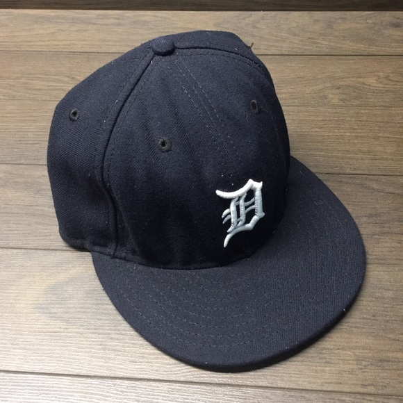 New Era Detroit Tigers Fitted Baseball Hat